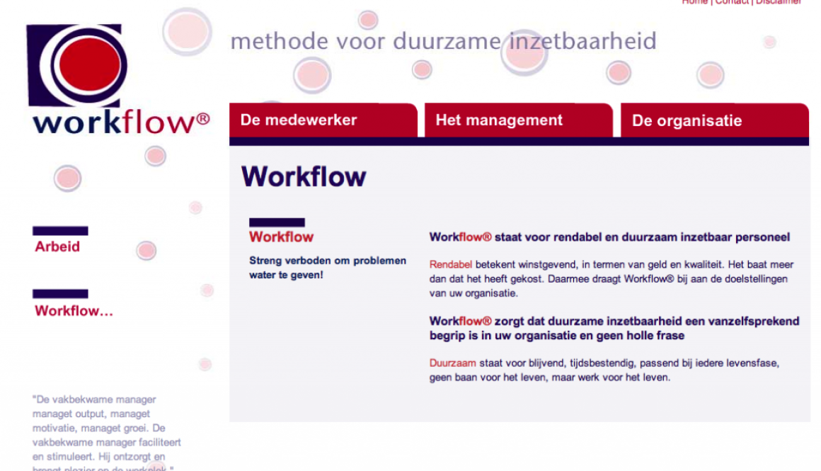 Website Create Workflow