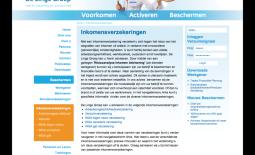 Herindeling site De Lingegroep
