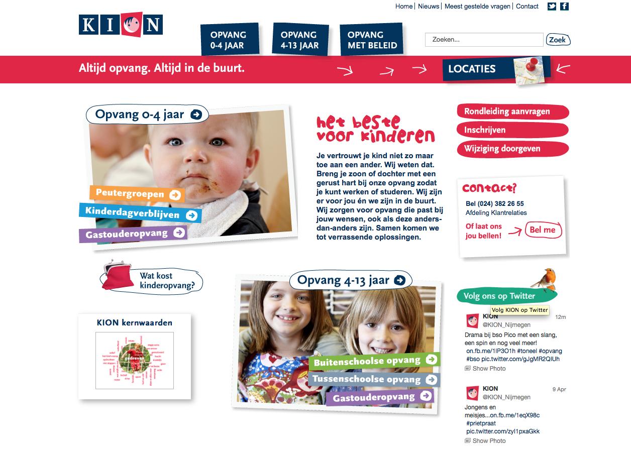 Nieuwe website voor KION