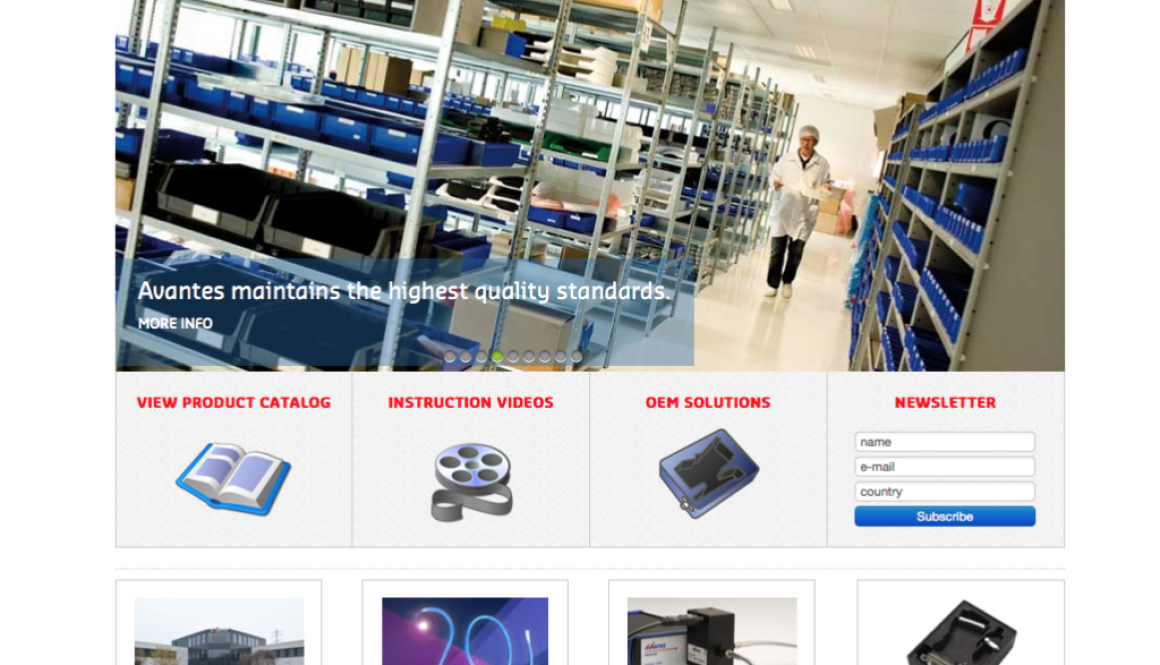 Website Avantes
