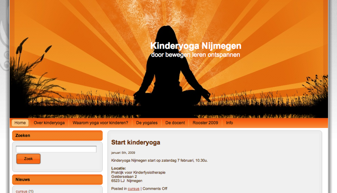 Kinderyoga Nijmegen